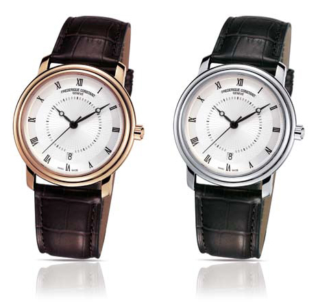 Frederique Constant Chopin Gold Plated and Stainless Steel